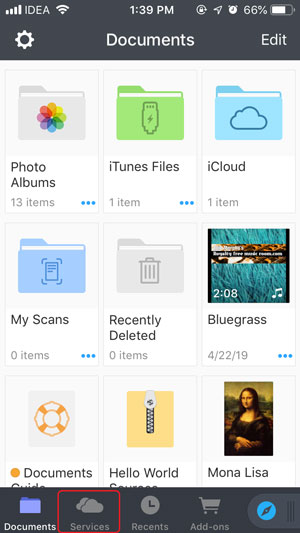Transfer Photos from PC to iPhone without iTunes- documents app
