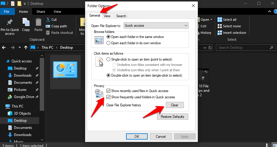 Windows 10 File Explorer Tips and Tricks 3