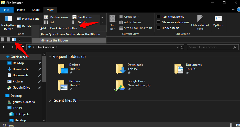 Windows 10 File Explorer Tips and Tricks 9