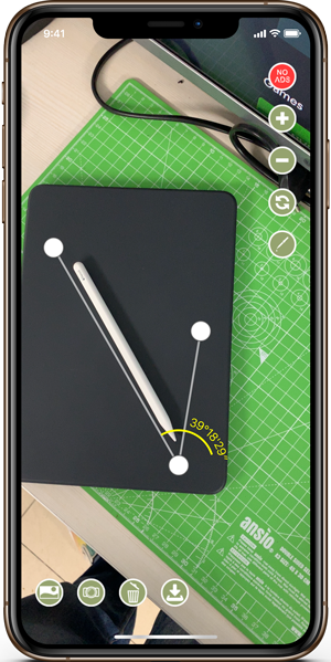 measurement apps- Angle Meter 360