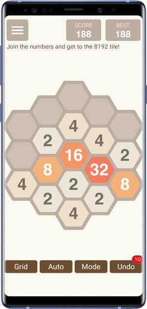 2048 alternative- hex