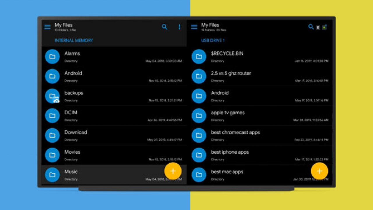 Here Are 5 Best File Managers for Android TV in 2019 | TechWiser