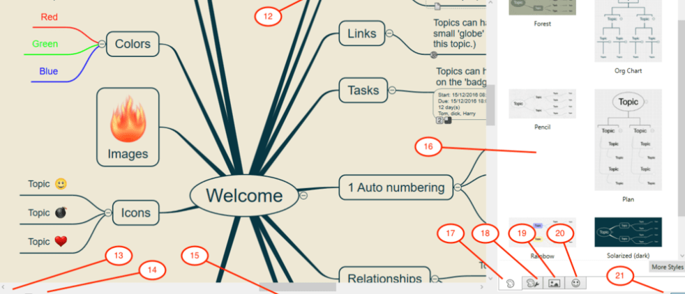 mind mapping iOS apps 3