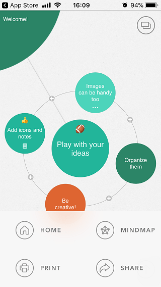 mind mapping iOS apps 4