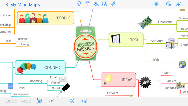 mind mapping iOS apps 5
