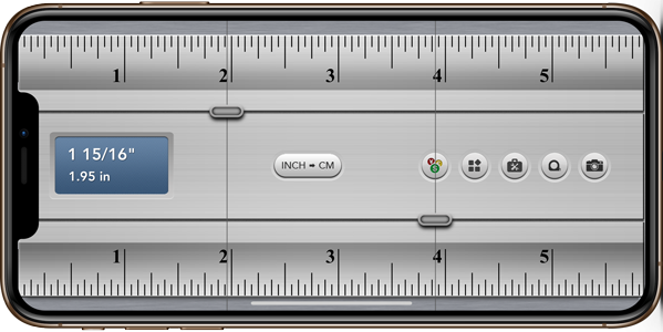 measurement apps- ruler