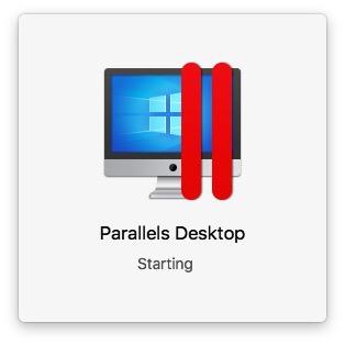 Open Parallels Desktop