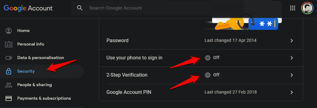 Use Android Phone to Verify Google Sign in on iOS Using 2SV 1