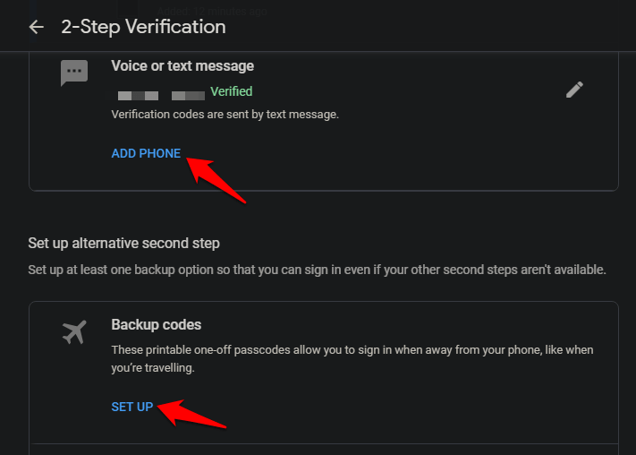 Use Android Phone to Verify Google Sign in on iOS Using 2SV 10
