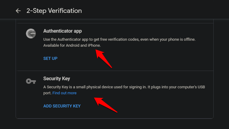 Use Android Phone to Verify Google Sign in on iOS Using 2SV 11