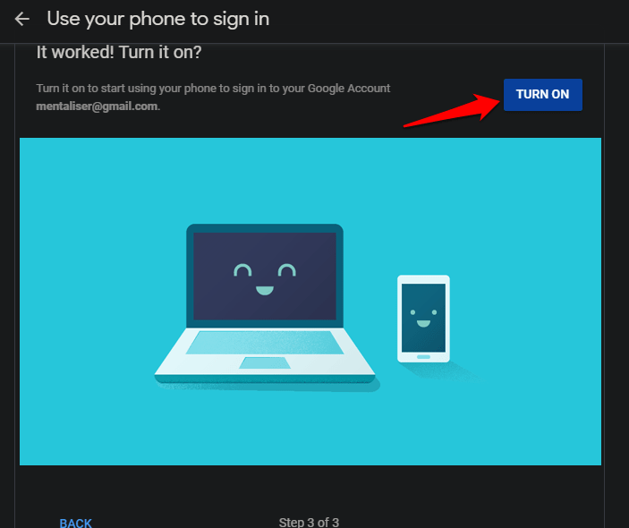 Use Android Phone to Verify Google Sign in on iOS Using 2SV 7