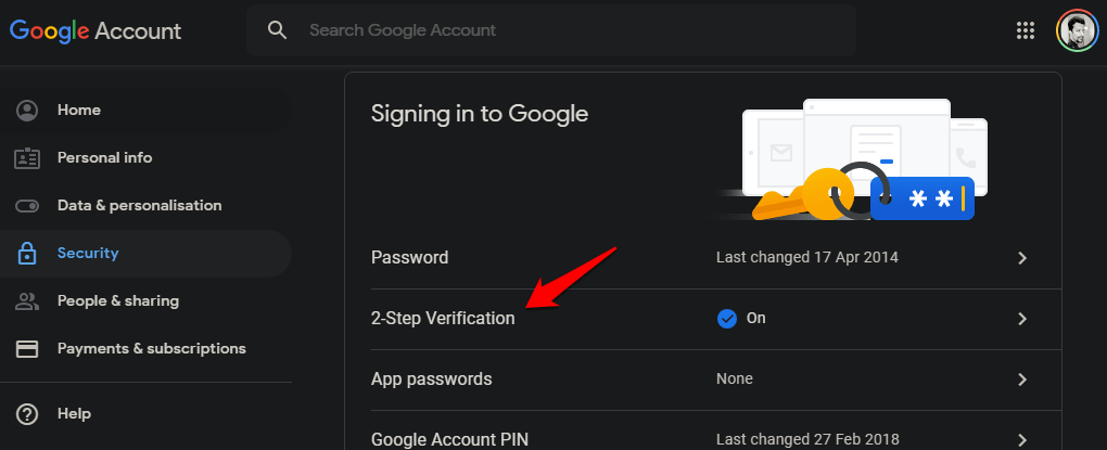 Use Android Phone to Verify Google Sign in on iOS Using 2SV 9