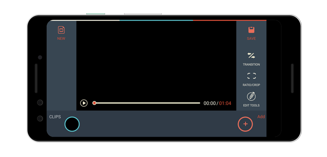 filmora-go-timeline