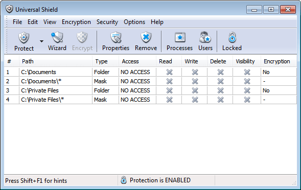 folder locker apps windows 10 7