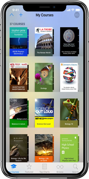 math learning apps- iTunes U
