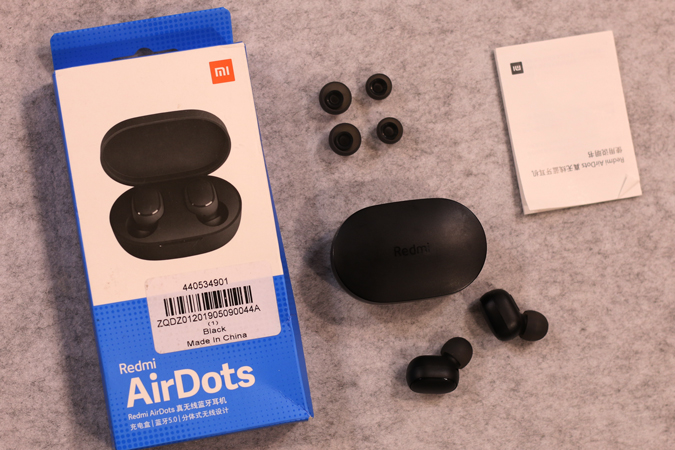 whats-in-the-box - Redmi Airdots Review
