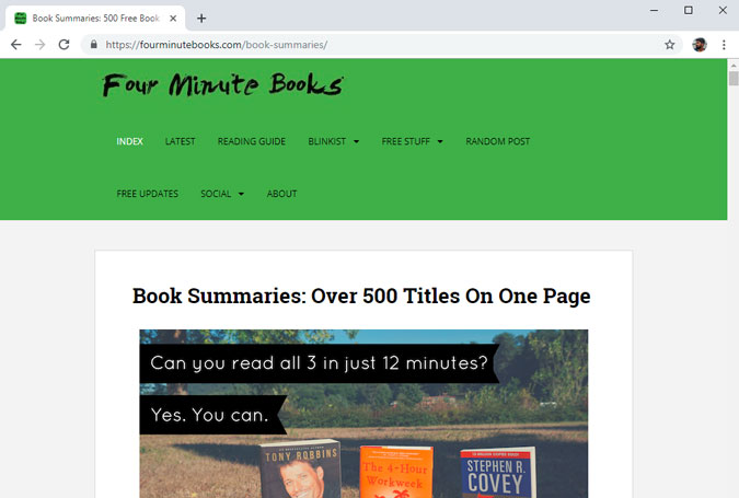 Four Minute Books