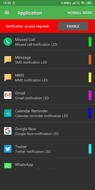 LED Light Notifications Apps 3