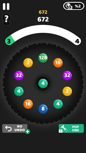 2048 but circular