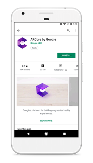 ar-core-by-google-in-play-store