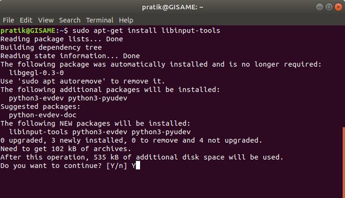 install-libinput-tools