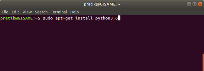 install-python3