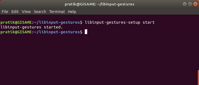 libinput-gestures-setup-start