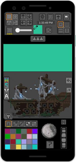 pixel art apps- pixelheart