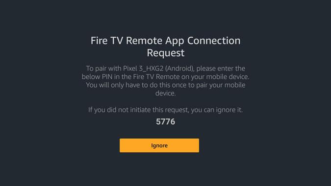 Lost Firestick Remote