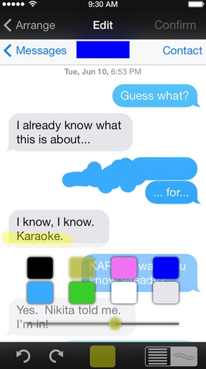 scrolling screenshots on iphone 5