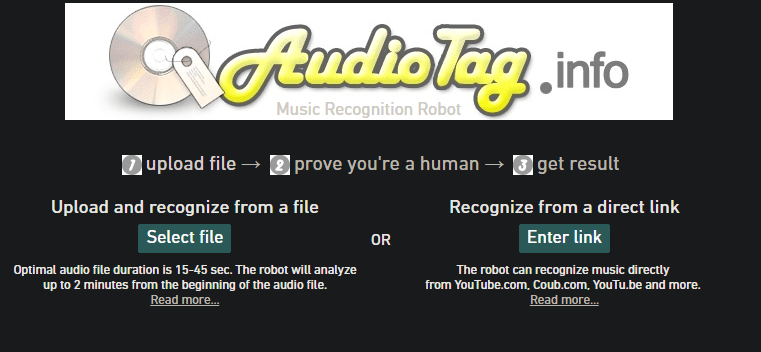 Apps That Recognizes Songs by Humming Tune - AudioTag