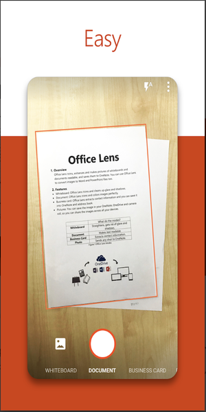 MS Office Lens Ease