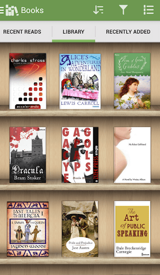 ebook reading apps for android 4