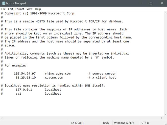 hosts-file-demo