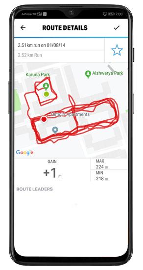 mapmyrun-route-details