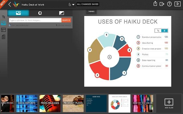 haiku deck presentation app