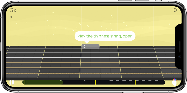 7 best guitar learning apps for android and ios techwiser. Black Bedroom Furniture Sets. Home Design Ideas