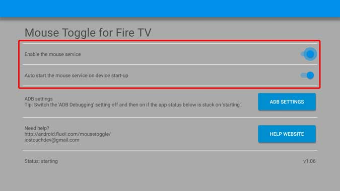 mouse toggle app on firestick