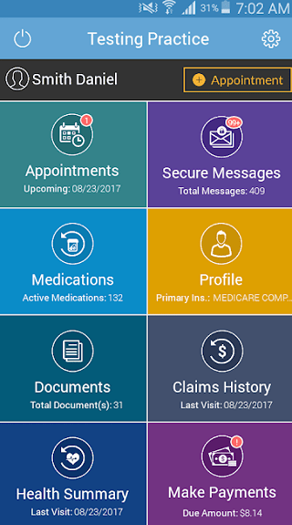 MTBC PHR medical records