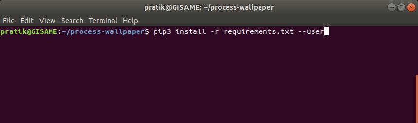 python-dependencies