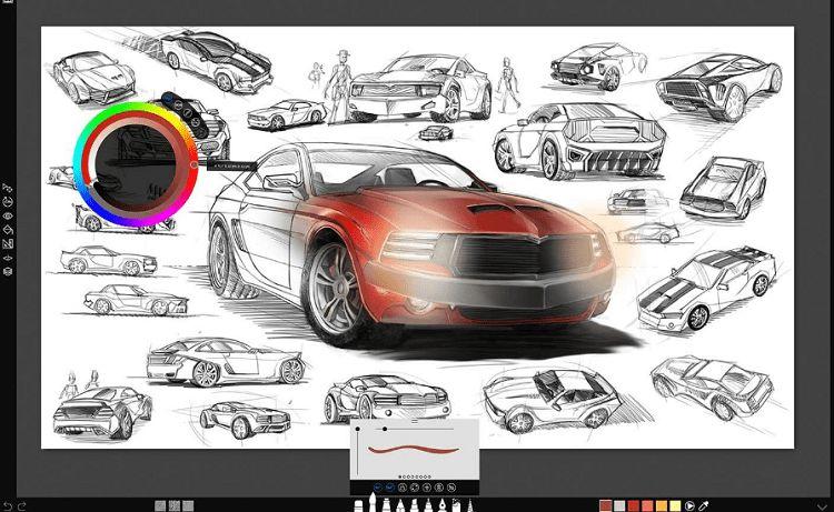 sketchable drawing app