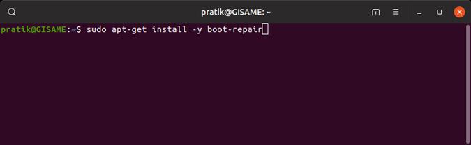 install-boot-repair