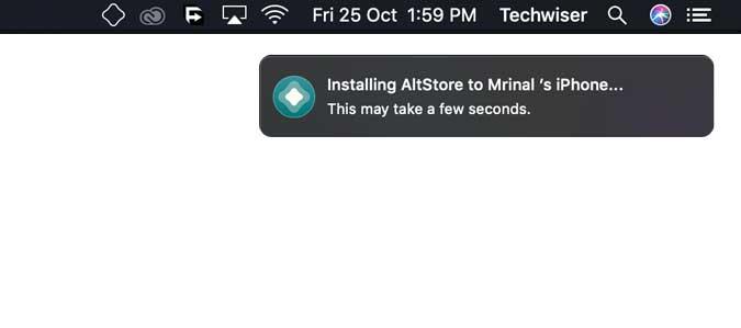 alt store on macbook