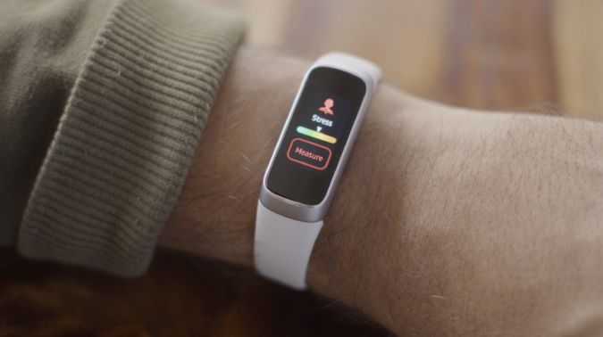 samsung fit detecting stress on the band