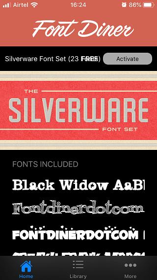 install custom fonts