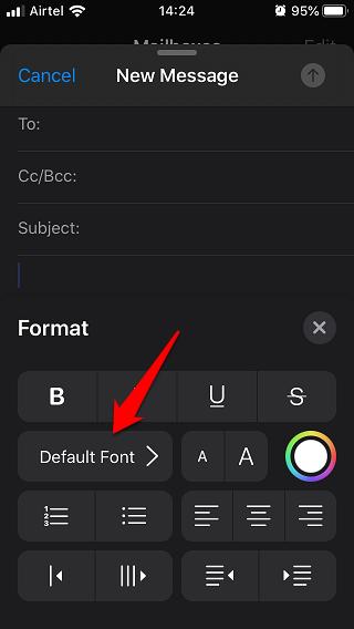 enter custom fonts