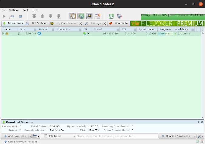 pop iso file downloading on jdownloader download manager