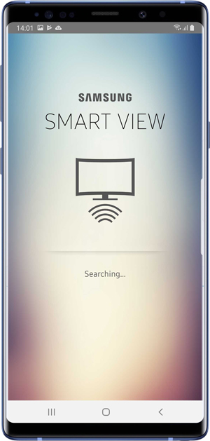 Smart View is used to cast and mirror media content to TV on older samsung models