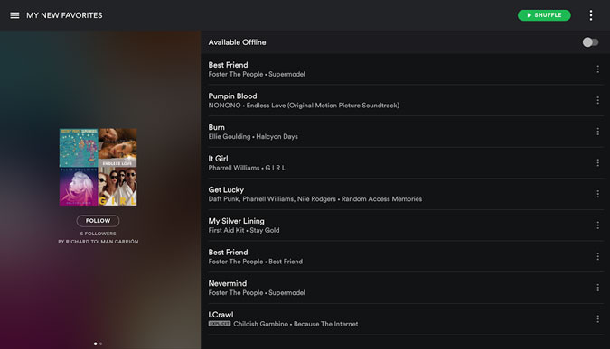 spotify-tablet-mode