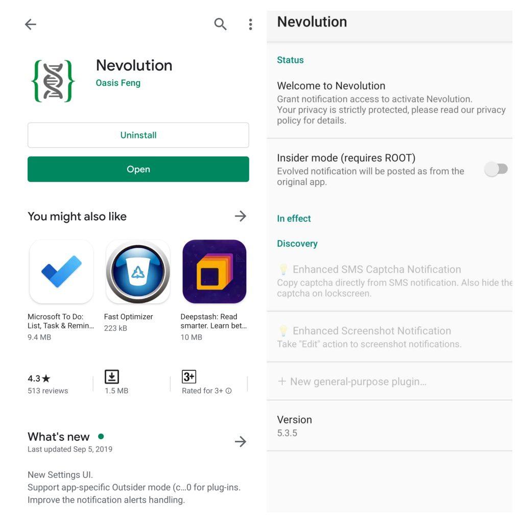 Nevolution Android App
